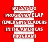 Bolsas do Programa Elap (Emerging Leaders in the Americas Program)