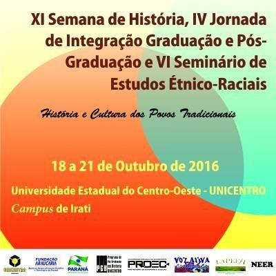 XI Semana de História @ Campus de Irati | Irati | Paraná | Brasil
