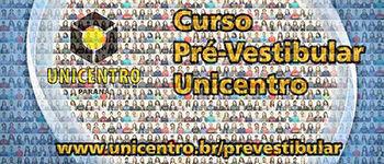 Curso Pré-Vestibular Unicentro