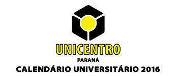Calendário Universitário 2016