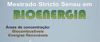 Mestrado em Bioenergia